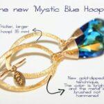 Örhängen - Mystic Blue Hoop
